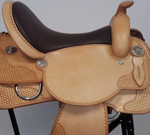 Westernsattel - J.v.G. Luxury custom - Customised Crome by Susanne Schnell