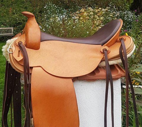 J.v.G. Luxury custom – Westernsattel anpassbar