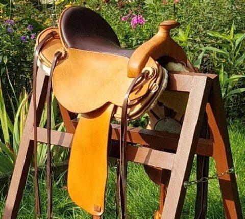 Westernsattel - J.v.G. Luxury custom