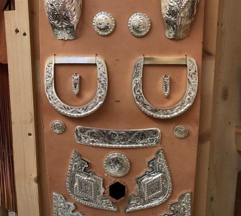 Westernsattel - Auswahlmöglichkeiten: Conchas vom J.v.G. Luxury custom