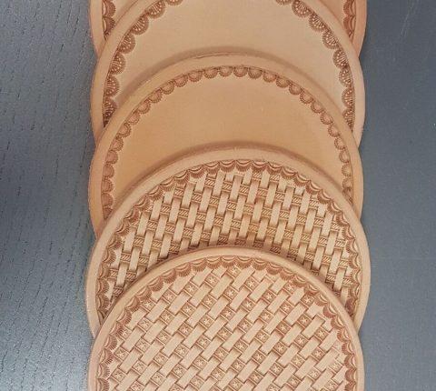 Westernsattel - Auswahlmöglichkeiten: Punzierungen vom J.v.G. Luxury custom