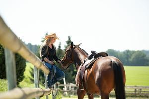 Westernsattel Luxury Wade für Quarter Horse